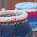 Felted Needle Vase pattern