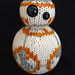 Knitted BB-8 pattern