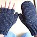 Crocheted Mittens / Fingerless Gloves (Women's) pattern