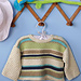 Striped Baby Sweater pattern