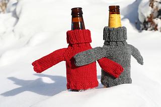 beer sweaters on adventure