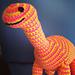 Brian the Brachiosaur Dinosaur Doll pattern