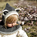 Rustic Raccoon Hooded Cowl Knit pattern