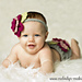Floral Diaper Cover and Headband Set pattern