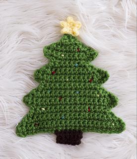 Crochet Christmas Tree.Ravelry Christmas Tree Pot Holder Crochet Pattern By Melody