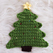 Christmas Tree Pot Holder Crochet pattern