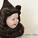 Cabled Bear Hooded Cowl ~ Knit Version pattern