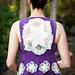 Sun Struck Boho Vest ~ Knit Version pattern