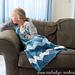 Ice Queen Dress Blanket ~ Knit Version pattern