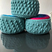 Totally Textured Yarn Baskets pattern