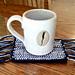 Mosaic Mug Rugs pattern