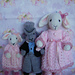 Little bridesmaids & page boy pattern