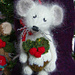 A Very Mice Christmas Pudding pattern