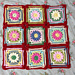 Bobbly Flower Square pattern