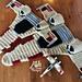 Bulky Spacefighter Blanket pattern