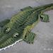 Bulky & Quick Alligator Blanket pattern