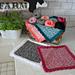 Rosy Posy Dishcloth pattern