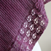 Eyelet Chain Shawl pattern