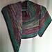 Le châle Impressionniste de miclasouris pattern