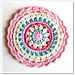 Little Spring Mandala pattern