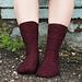Vinifera Sock pattern