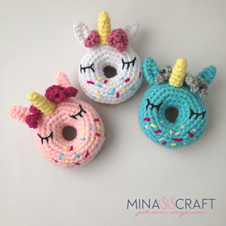 How to Crochet Donuts [Free Pattern] | 320x320