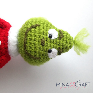 Ravelry: The Grinch Amigurumi pattern by Yazmina Nieblas | 320x320