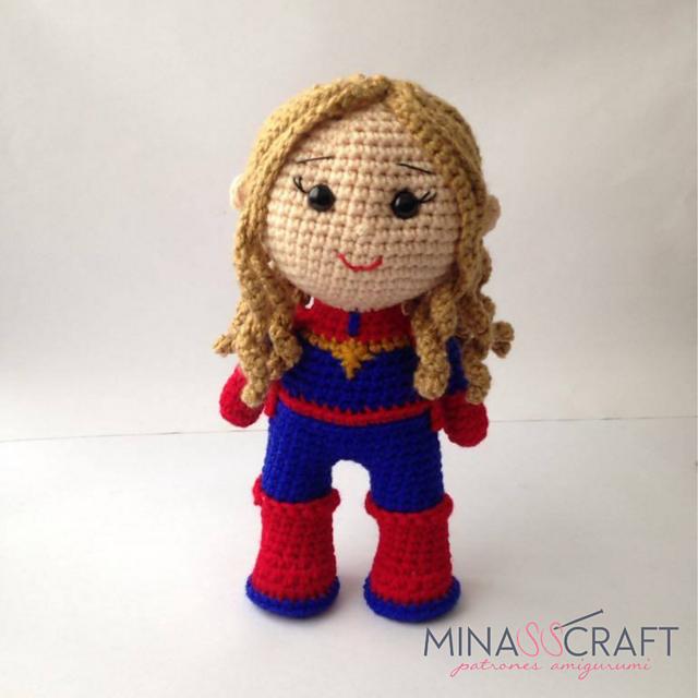 Iron Man Captain America Thor Black Widow Hulk Crochet superhero ... | 640x640