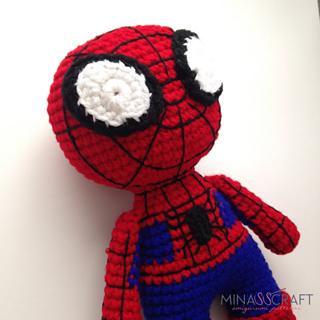 Amigurumi Spiderman Free Crochet Pattern - Crochet.msa.plus | 320x320