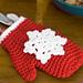 Snowflake Mitten Ornaments pattern