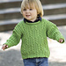 Provence Cabled Pullover pattern
