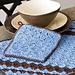 Diagonal Stitch Place Mat pattern