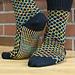 TicTac Toes Socks pattern