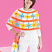 Daisy Chain Poncho and Bag (Poncho) pattern