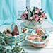 Pastel Gift Baskets: Checkered Basket pattern