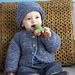 Snuggle Baby Cardigan and Hat pattern