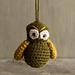 Halloween Owl Ornament pattern
