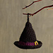 Halloween Witch Hat Ornament pattern