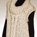 Aran Braid Quick Vest pattern