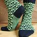 Art Deco Socks pattern