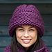 Garter Stitch Hat #L0336 pattern