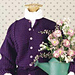 Grape Twin-Textured Cardigan pattern