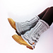 Loom Knit Leg Warmers pattern