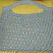 Diagonal Ribbed Mesh Market Bag pattern