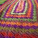 Oblong Wool-Eater Blanket pattern