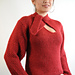 1457 Keyhole neck pullover pattern