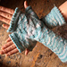 Dragon Scale Mitts pattern