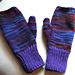 Easy Two-Needle Fingerless Gloves pattern