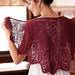 Rosebud Faroese-Style Shawl pattern