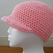 Hat with Brim pattern